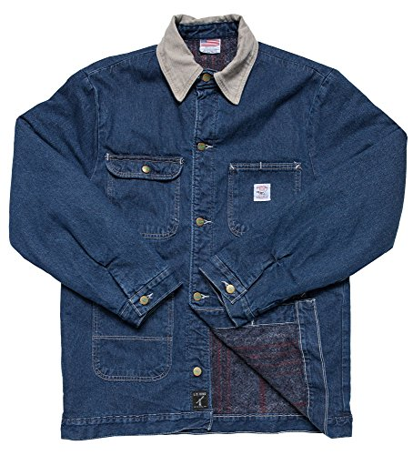 Pointer Brand Indigo Denim Barn Coat M Blue by Pointer