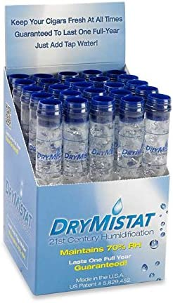 Pack of 2 Drymistat Humidor Humidifier Tubes Set Your Humidor to 70/% Humidity