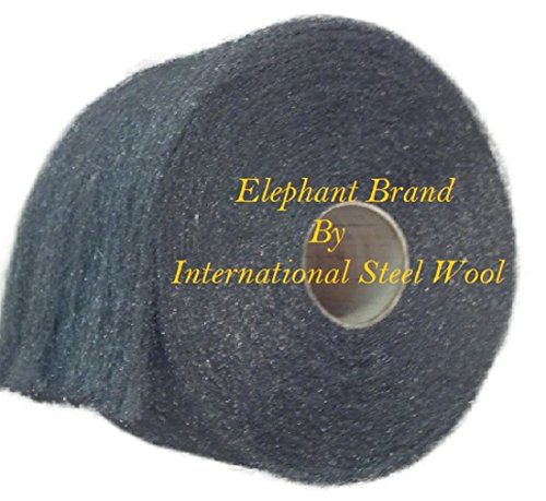 Fine Stainless Steel Wool, 1lb Roll by Elephant Brand