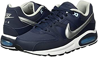 Nike Men's Air Max Command Leather Sneakers, Blue (Obsidian