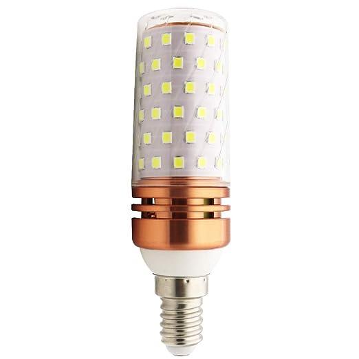 LED maíz bombillas e14 10 W oro rosado 100 W equivalente a bombillas no regulable 3000