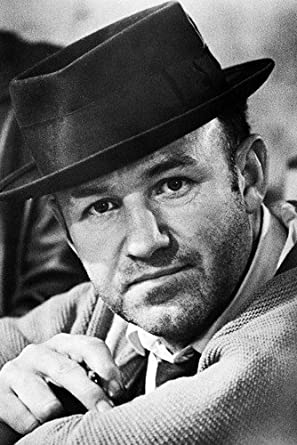 a3c49048793 Gene Hackman 11x17 Mini Poster The French Connection in pork pie hat at  Amazon's Entertainment Collectibles Store