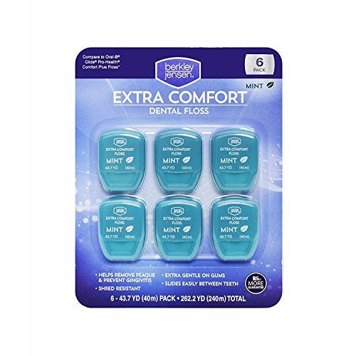 Berkley Jensen Extra Comfort Dental Floss, 6 Count -  UCCI (European Credit and Commerce International), CA-041717-2047