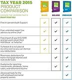 H&R Block 2015 Premium + Business Tax Software + Refund Bonus Offer - Windows Download [Old Version]