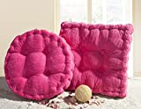 Candy Color Multi-Size Square/Round Stuffed Chair Cushion Thicken LivebyCare Filled Seat Back Cushions Square PP Cotton Insert Filling Pad for Adults Senior Men Women Bedroom