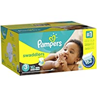Pampers Swaddlers Diapers Size 3 162 Count