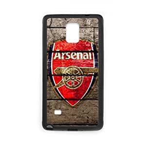 Custom Cover Case Fashion Arsenal Time For Samsung Galaxy Note 4 N9100 SXSWI947643