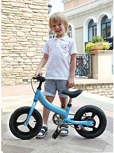 Kinderfiets Jongens Meisjes Freestyle Fiets 12 14 Inch, Kinderfiets voor 3-7 jaar Oud Jongens & Meisjes, 85% Gemonteerd, Blauw, 12 inch