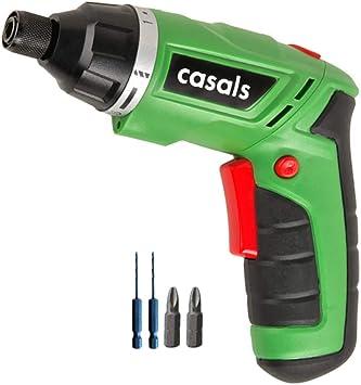 Casals C01232000 Atornillador a batería de litio, 4.7 W, 3.6 V ...
