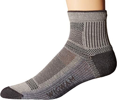 Wigwam Ultra Cool Lite Quarter Socks Grey,Medium