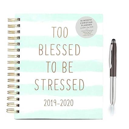 Eccolo 2019 2020 Calendario planificador de agenda cristiana ...