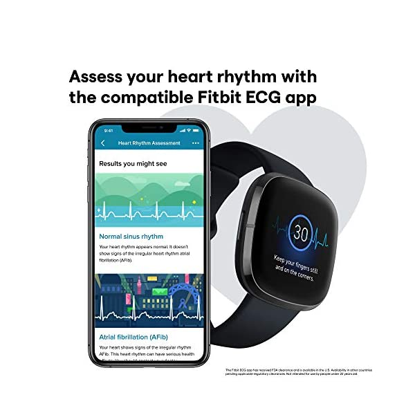 Fitbit Sense Advanced Smartwatch with Tools for Heart Health, Stress Management