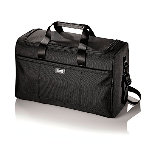 Hartmann Ratio Nylon Travel Duffel Bag in Black by Hartmann