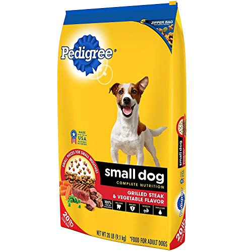 (Pedigree Small Dog Targeted Nutrition Dog Food, Steak & Vegetable (20 lbs.) by Pedigree)
