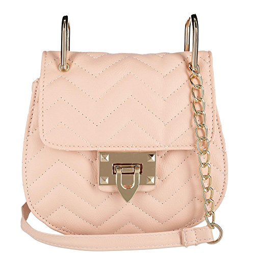 OMG OMG Accessories Blush Women's Pattern Chevron Crossbody Accessories Bag 55HwxPqr