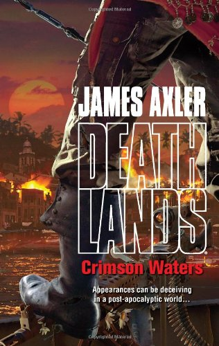book cover of Crimson Waters
