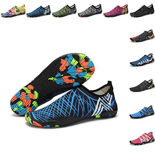 on amp;blue Water Barefoot Swim Yoga Sports Dry Black Men Slip Aqua PENGCHENG Shoes Surf Quick Pool Shoes Women Beach Skin For Socks qxwOnC1E