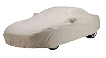 Covercraft Custom Fit Car Cover For Ford Mustang (Dustop Fabric, Taupe)