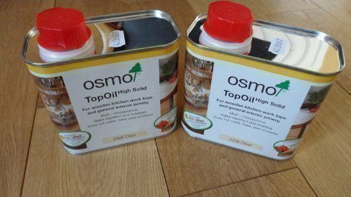 Osmo Top Oil 3058 Kitchen Worktops- 0.5ltr x 2 tin Deal