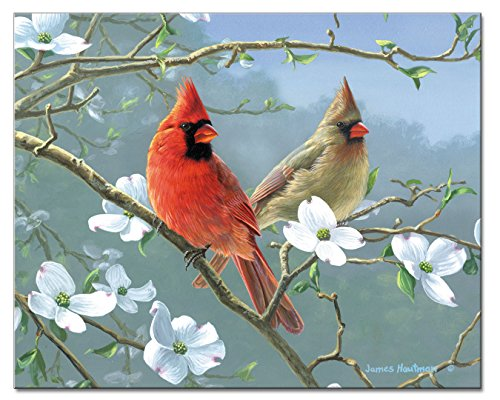 - CounterArt Beautiful Songbirds Glass Cutting Board, 15 x 12 Inches