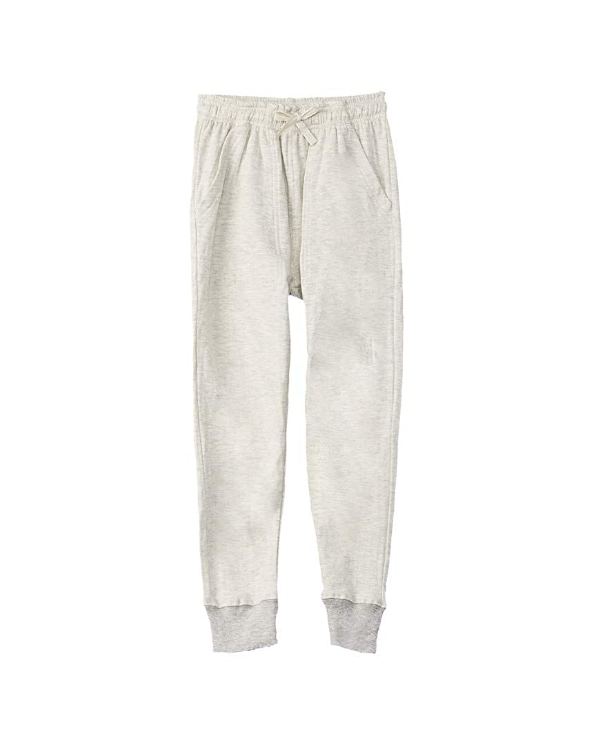 3T Oatmeal Heather// Wes and Willy Boys Jie Jie Jogger Pant