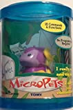 Tomy - MicroPets - Series 1 - EXCLUSIVE - 2002 - Purple Monster - Bob