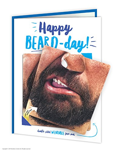 Texto en inglés Happy Beard-Day! Tarjeta de felicitación ...
