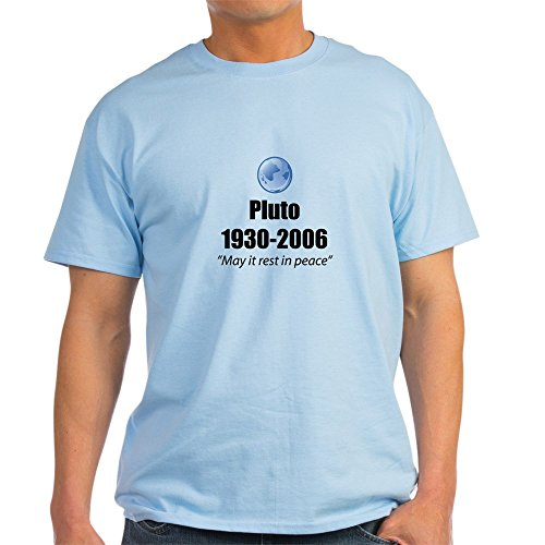 CafePress - Pluto Rest in Peace Ash Grey T-Shirt - 100% Cotton T-Shirt - Pluto Ash Grey T-shirt