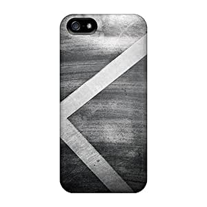 Iphone 5/5s Hard Back With Bumper Silicone Gel Tpu Case Cover X Abstractdesire