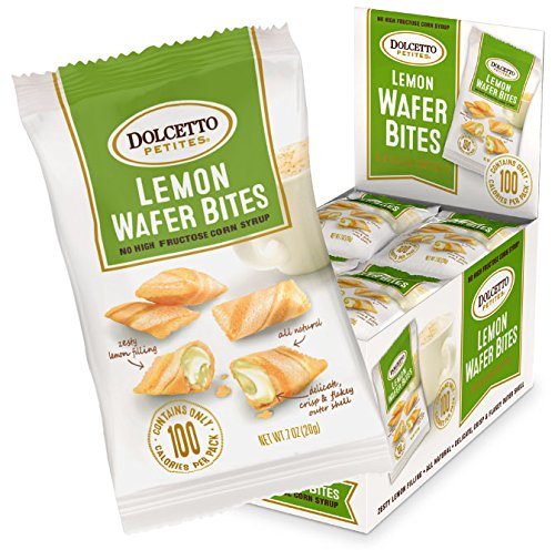(Dolcetto Lemon Wafer Bites, 0.70 Ounce (Pack of 24))