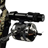 Archery Bowfishing Reel Bowfisher Direct Mount for Compound & Recurve Bow Shooting Fish