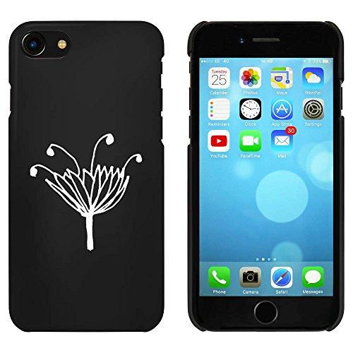 Noir 'Jolie Fleur' étui / housse pour iPhone 7 (MC00078065)