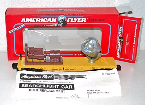 American Flyer 6-49003 Union Pacific Searchlight car metal housing UP flat S gge