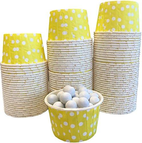 mini baking cups dots - 9