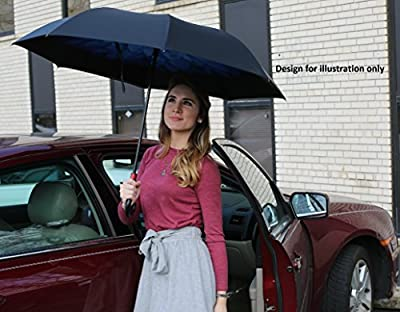 Reverse Inverted Auto Open Umbrella - Upside Down Windproof Umbrellas for Women and Men (15 Designs)