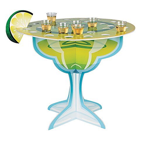 Margarita Glass Holder Tabletop Centerpiece