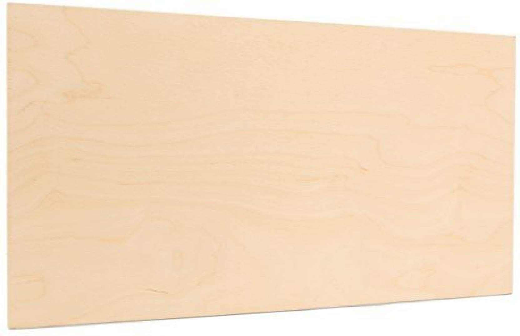 5 mm 1/4'' x 12'' x 24'' Premium Baltic Birch Plywood B/BB Grade (6 Pack) by Wood-Ever