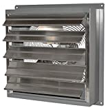 Canarm 1 Speed 24 Inch Standard Wall Exhaust Fan With Automatic Shutters 24 inch 5600 CFM SD24-F1