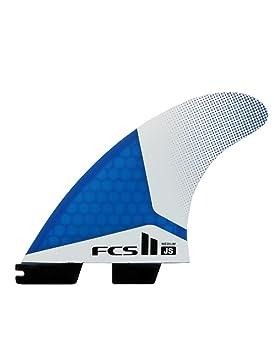 FCS Unisex II JS PC – Juego de alerones, azul, medium