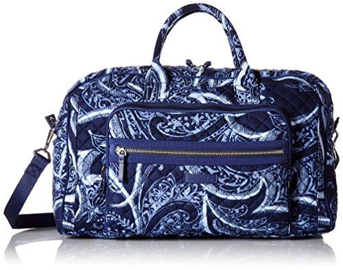 Vera Bradley Iconic Compact Weekender Travel Bag, Signature