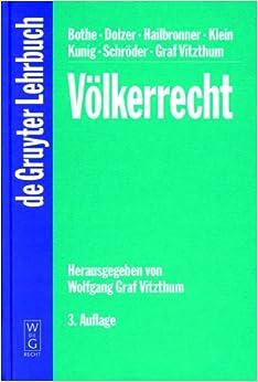 Volkerrecht (De Gruyter Lehrbuch)