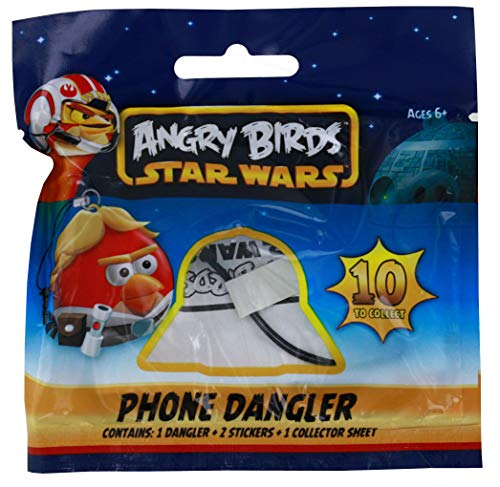 UCC Distributing, Inc. Angry Birds Star Wars Phone Dangler, Blind Bag -