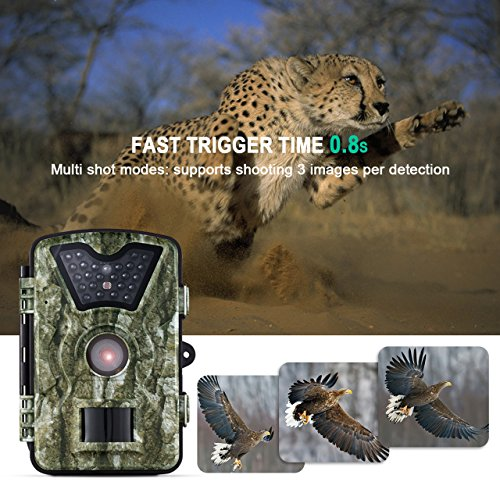 VicTsing Trail Camera, Game and Hunting Wildlif...