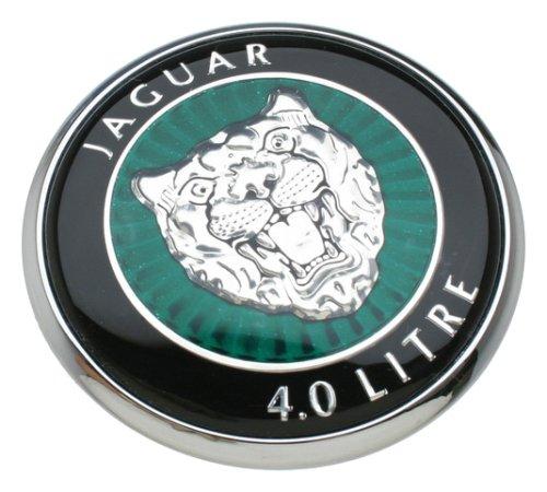 jaguar hood emblem - 9