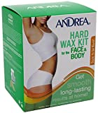 Andrea Hard Wax Kit for Face & Body 8 oz (Pack of 12)