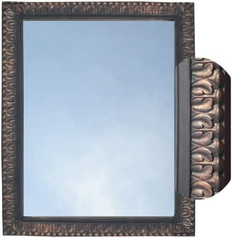 Rectangle Mirror Framed Wall Mount, Oil Rubbed Bronze
