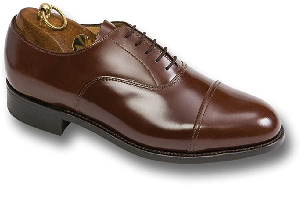 3ebb90120f7 Sanders Officers' Leather Oxford Shoes, black or brown