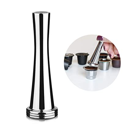 Coffee Solid Powder Tamper, Durable Professional Stainless