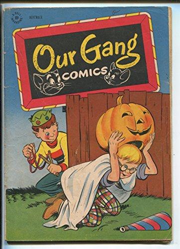 OUR GANG #28-1946-CARK BARKS-TOM & JERRY-HALLOWEEN-vg+