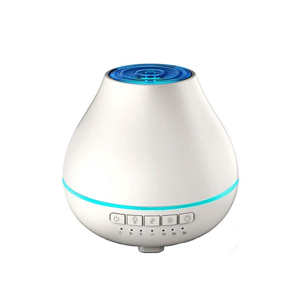 多機能のBluetoothオーディオ加湿器ミュート常夜灯エッセンシャルオイルディフューザーホワイト200ml (色 : -, サイズ : -)   B07Q5X4V84